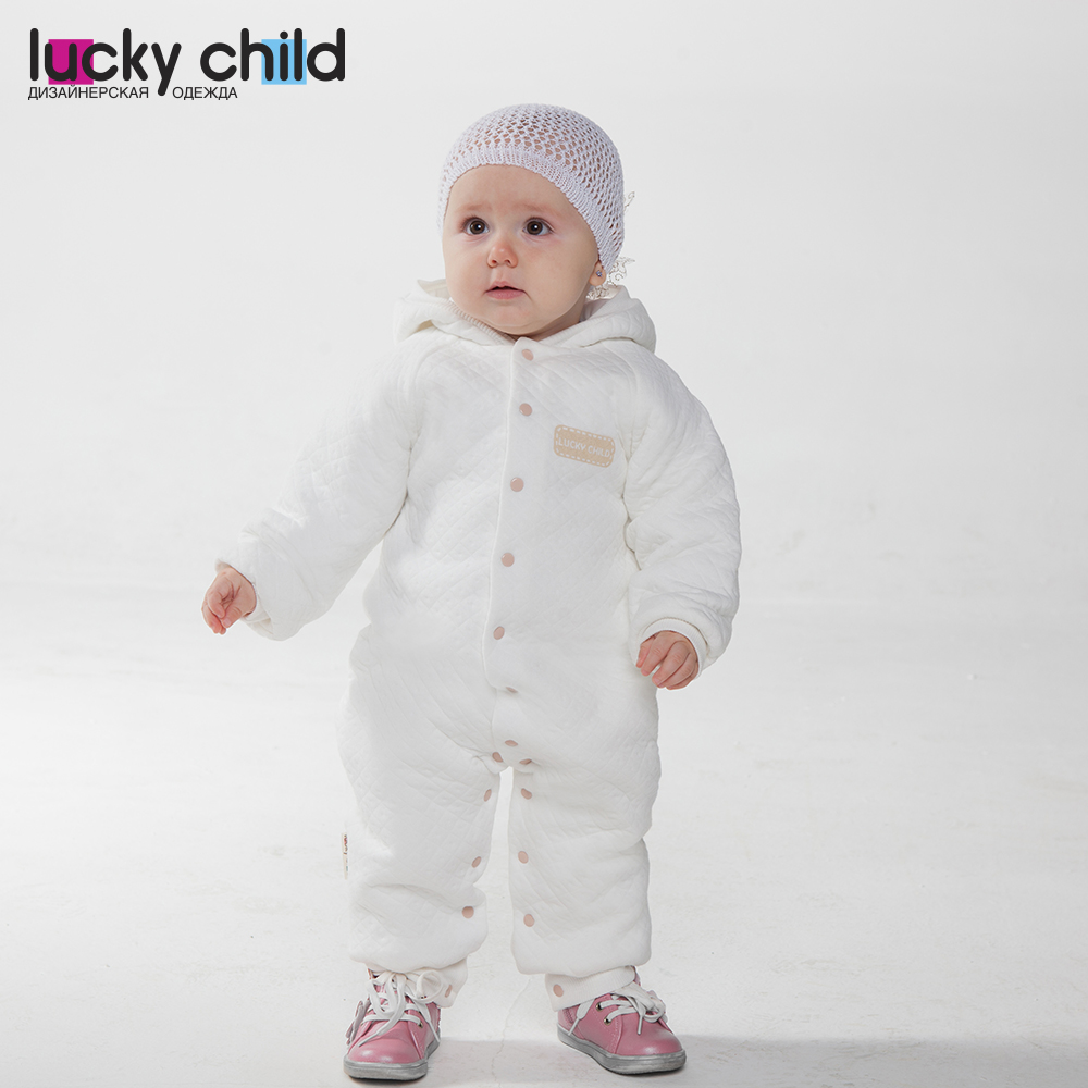 Jumpsuit Lucky Child for girls and boys 24-70 Children's clothes kids Rompers for baby 50cm reborn dolls boys silicone reborn baby dolls toys for girls gift novelty lifelike baby newborn doll include clothes and hat