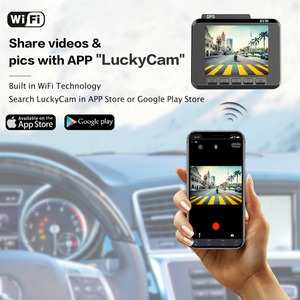 Image 3 - AZDOME M06 WiFi GPSในตัวDual FHD 1080P + VGAด้านหลังกล้องรถDVRเครื่องบันทึก 4K Dash Cam Dashcam WDR Night Vision
