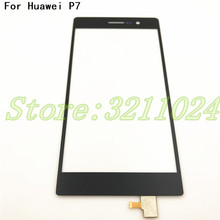 New Replacement Touchscreen For Huawei Ascend P7 Digitizer Glass Touch Screen For Huawei P7 Touch Sensor+Tools for huawei p7 lcd touch screen digitizer touch screen handwriting screen