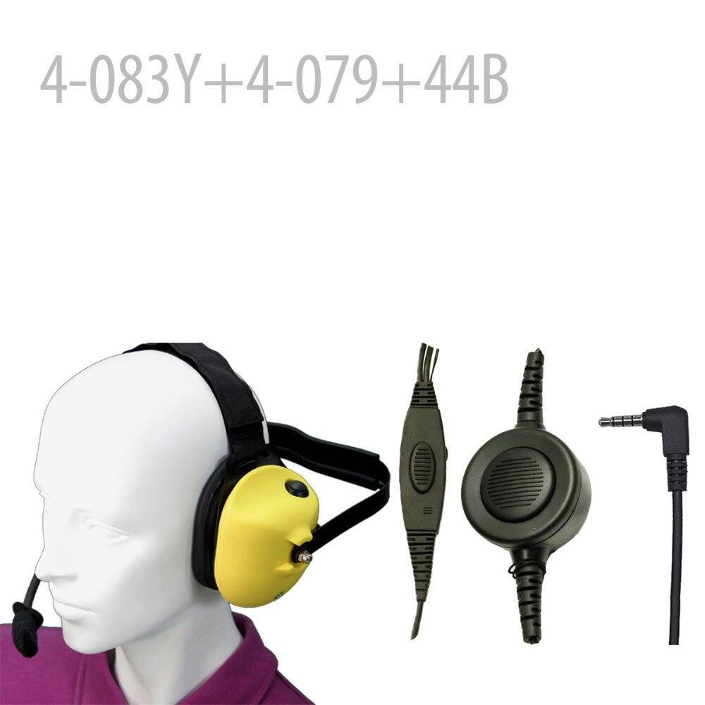 Heavy duty Noise reduction Headset-Y+Mini Din Plug 44-B for UV-3R Mark II UV-100 UV-100 Mark II UV-200 UV-200 Mark II BF-U3 Heavy duty Noise reduction Headset-Y+Mini Din Plug 44-B for UV-3R Mark II UV-100 UV-100 Mark II UV-200 UV-200 Mark II BF-U3