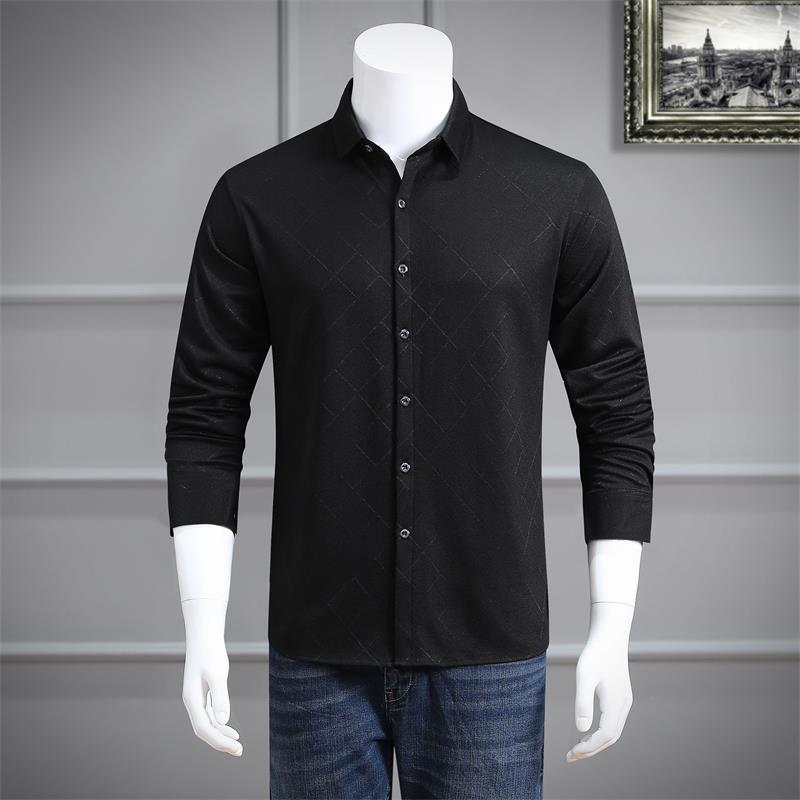plus size 8xl 6xl 5xl 4xl Mens Shirt Brand 2018 Male Long Sleeve Shirts Casual Hit Color loose Fit Solid Color Men Dress Shirts
