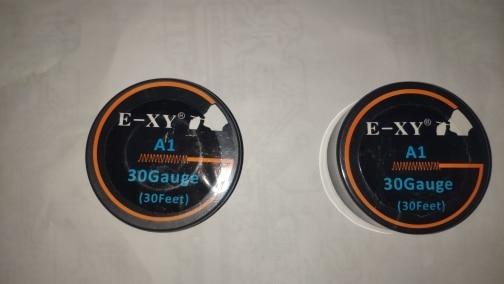 E-XY 10m/roll NI80 SS316L A1 Wire heating wire for RDA RBA Rebuildable DIY Atomizer Coil E-Cigarette Vaporizer coils