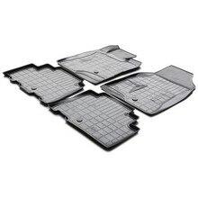Для Chevrolet Captiva 2011-2015 3D коврики в салон 4 шт./компл. Rival 11007001