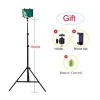 150CM 59'' Universal Aluminum Camera Stand Mount Digital Phone Tripod For IPHONE HUAWEI XIAOMI Portable DSLR Tripod
