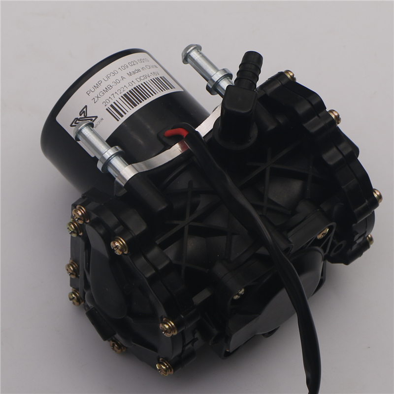UP50 Electric Vacuum Pump Power Brake Booster Auxiliary Pump Assembly Ford BYD E5 E6 suit for electric auto brake vacuum canister reservoir tank aluminium alloy vacuum brake booster can universal for chevy mopar for ford drift track