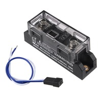 UXCELL 4 32V DC to 24 480V Relay Three Phase Solid State Relay Module DC To AC Relays Power Supplies AC 100A SAM40100D
