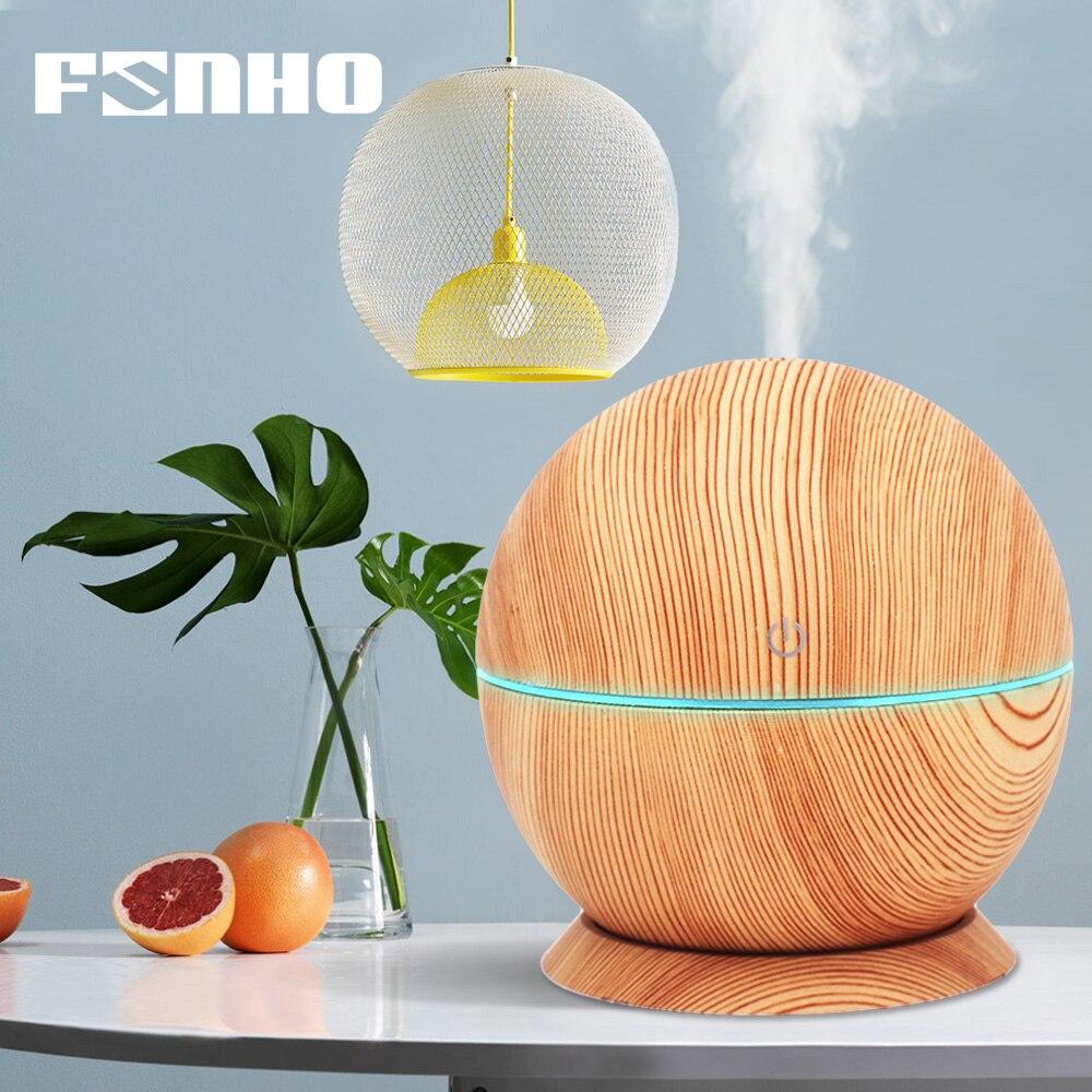 FUNHO Aroma Umidificatore Ad Ultrasuoni USB Led Luci notturne humidificador aromaterapia Olio Essenziale Diffusore Nebulizzatore Per la casa 021