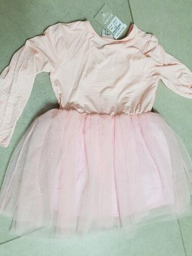 VIKITA Girls Dress Long Sleeve Kids Flower Dresses Children Unicorn Vestidos 2018 Girls Dresses Autumn Kids Dress For Girl