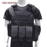 Outdoor Jagd Westen Taktische Weste Anzug Military Männer Kleidung Armee CS Ausrüstung Zubehör-in Jagdwesten aus Sport und Unterhaltung bei