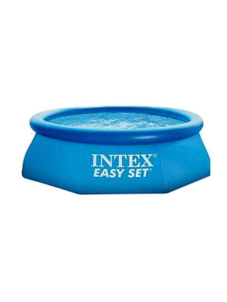 Octagonal водораспорный Pool Inflatable Ring Inflatable Outdoor Pool Fast Set 244x76 Cm, 2419 L, Intex, Item No. 28110np