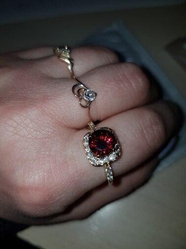 DROLE Роскошный Дизайн Мода Серебряный Позолоченный Большой Циркон Инкрустированных Кольца Для Женщин Обручальное Ювелирный Подарок кольца женские