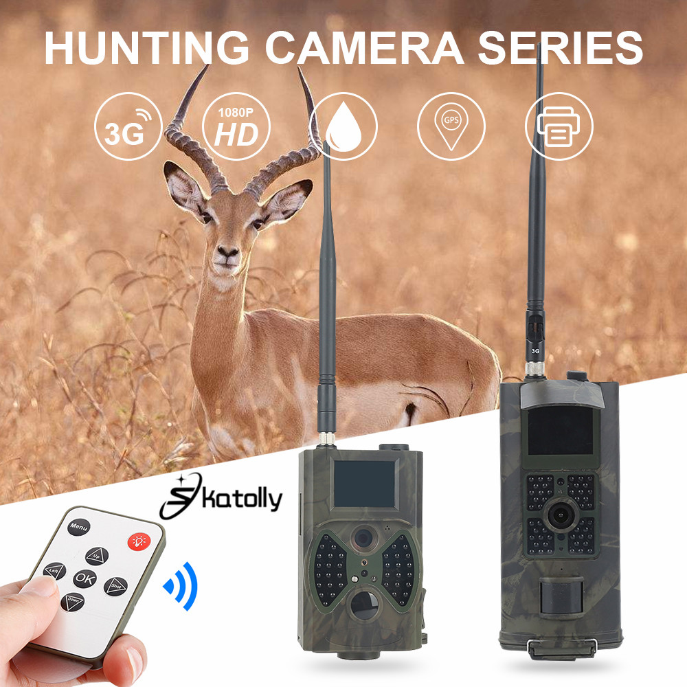 Skatolly Hunting Camera HC300M 700G 3G GSM 1080P Photo Traps Infrared Night Vision Wildlife Trail Cameras Hunter Scouting Chasse