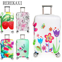 REREKAXI Suitcase Luggage Travel Accessories 18 To 32 Inch Suitcase Trolley Dust Cover Elastic Box Protective