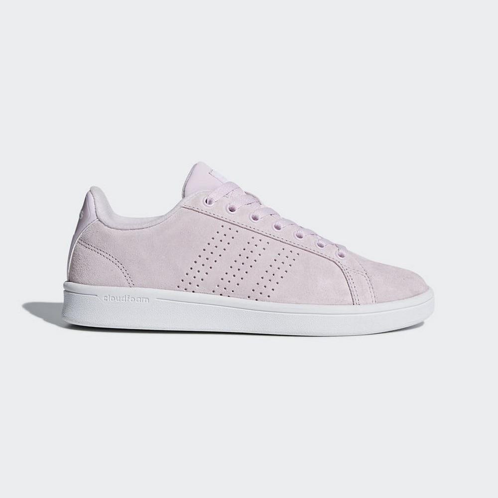 €89.9 |Sneakers DB1319 Zapatilla Adidas Cloudfoam Advantage Clean Rosa  Blanco Mujer|Zapatos de tenis| - AliExpress
