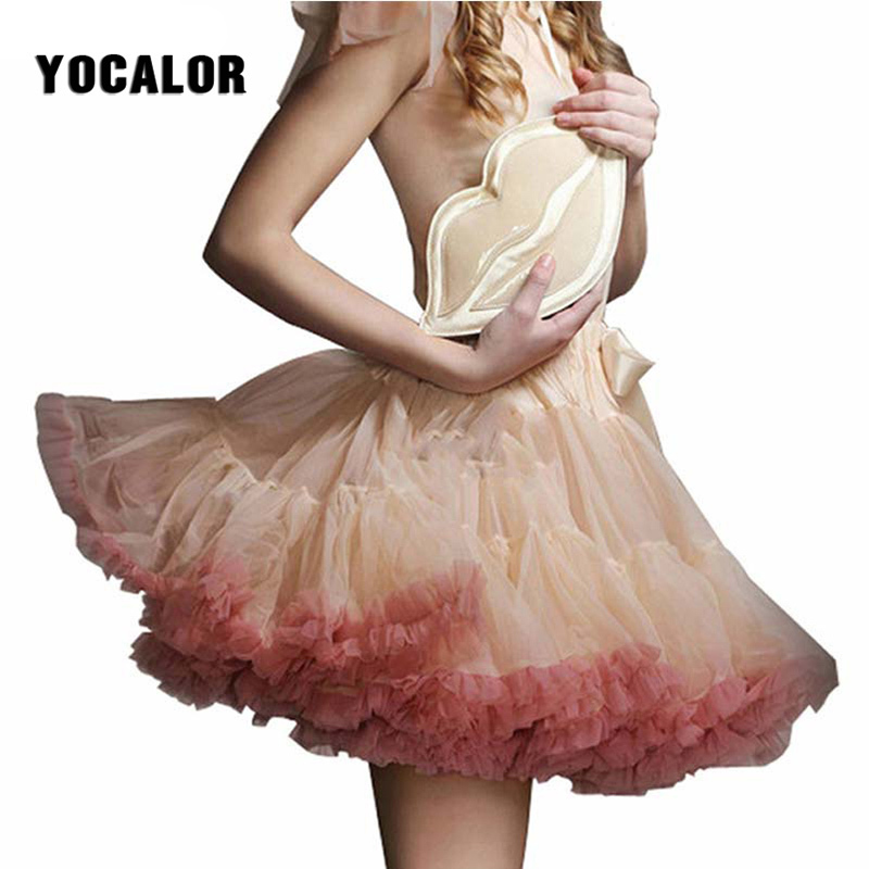 Sexy Micro Mini Skirt Female Dance Skating Skirt Tutu Tulle Skirts Women Womens Faldas Saia Short Skirt Petticoat Lolita Kilt