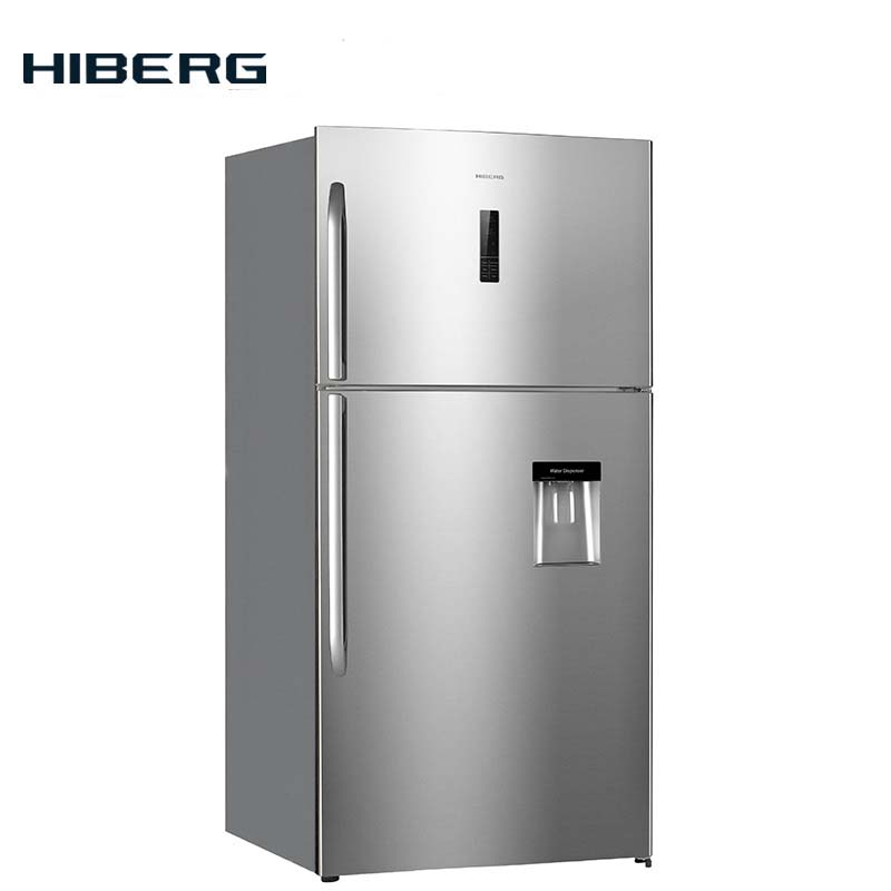 Refrigerator with no frost system HIBERG RFT 72D NFX цена
