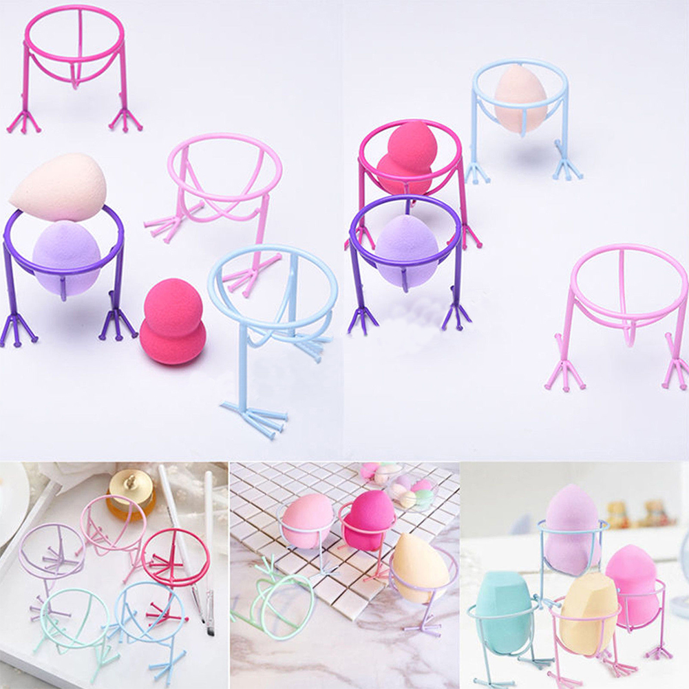 Makeup Beauty Egg Powder Puff Sponge Storage Display Stand Drying Holder Rack