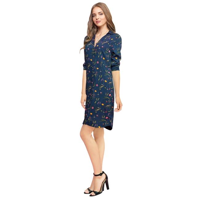 Gloria Jeans Нежное платье-рубашка с цветочным принтом GDR010177