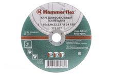 180 x 6.0 x 22,23 A 24 R BF Круг шлифовальный Hammer Flex 232-027  по металлу цена за 1шт