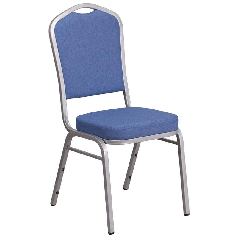 Серия Геркулес головку укладки Банкетный стул W/синий ткань сиденья