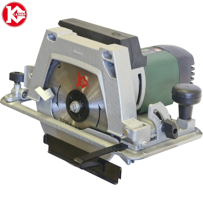 Electric circular saw Kalibr EPD-2100/200+ST kalibr epd 1700 185 electric circular saw for wood with a blade tool circle saw