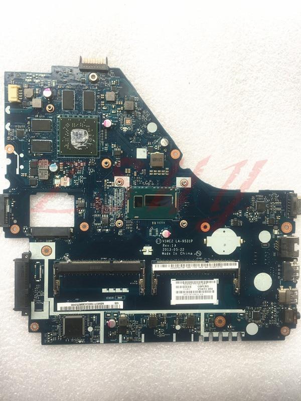 For font b Acer b font E1 572G Laptop motherboard NBMFP1100B I5 LA 9531P REV1A R7