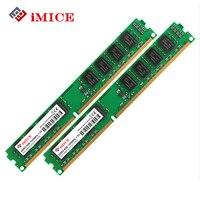 Imice Настольный ПК ОЗУ DDR3 4 ГБ 1333 мГц 240 pin pc3-10600s 2 ГБ 8 ГБ Оперативная память для Intel arm DIMM памяти компьютера пожизненная Гарантия
