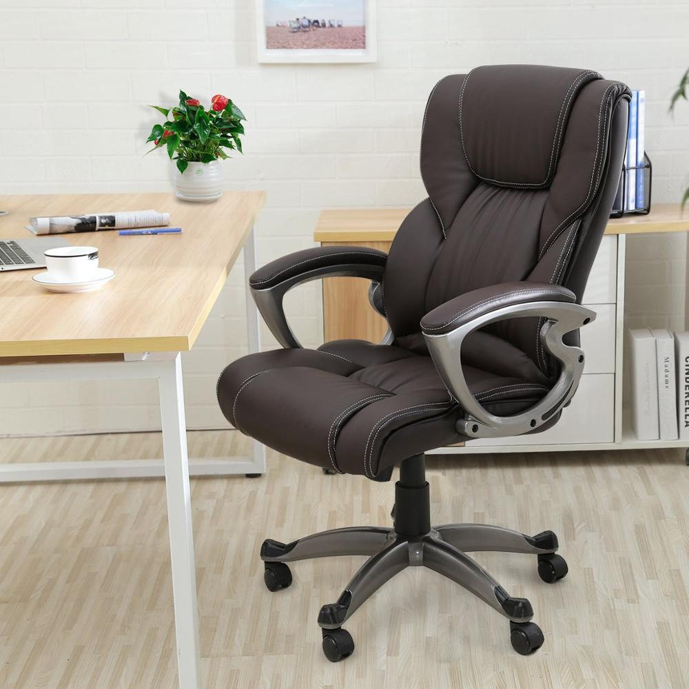 Stupendous Seatingplus High Back Home Office Chair Leather Computer Lamtechconsult Wood Chair Design Ideas Lamtechconsultcom