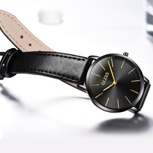 Ladies Fashion Quartz Watch OLEVS Luxury Women Leather Wrist Watches Casual Dress Female Clock reloje mujer 2017 montre femme