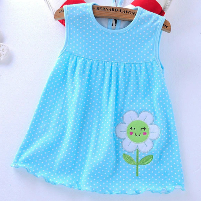 Baby Girl Clothing Summer Flower Baby Girl Dress Style
