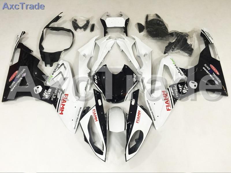 Мотоцикл Обтекатели для BMW S1000RR С1000 2015 2016 15 16 АБС-пластик инъекции обтекатель кузова комплект белый черный A453