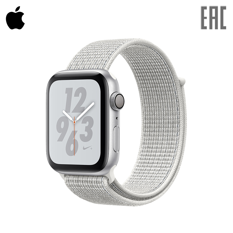 Smart Watch Apple Watch S4, 44mm, Nike + Sport Loop new 2017 stainless steel watch band wrist strap for fitbit alta smart watch high quality 0428