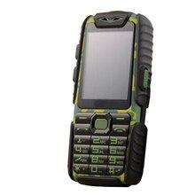 Guophone A6 power Bank 9800mAh Мобильный телефон Shnockproof пылезащитный фонарик для длительного ожидания MP3 MP4