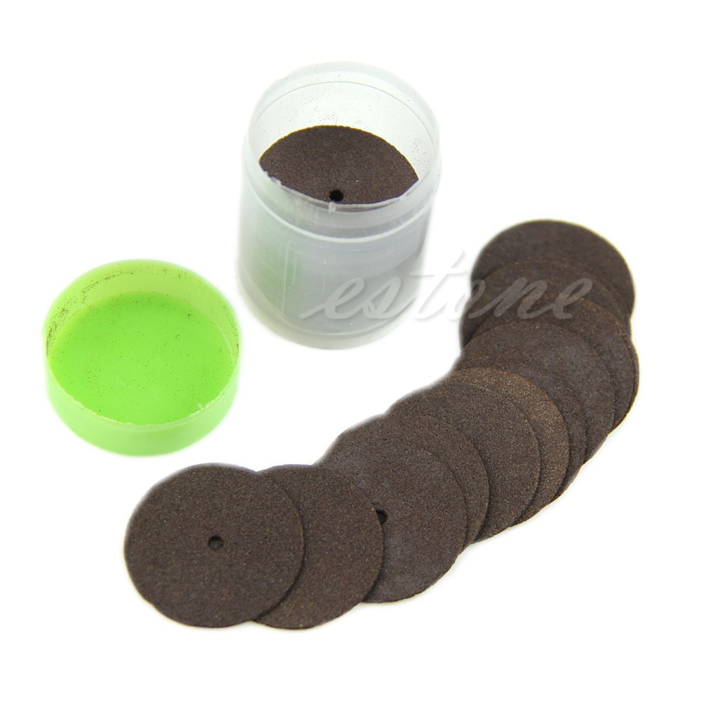 36pcs/lot Brown Resin Cutting Wheel Disc Blade Cut Off Set Kit For Dremel Rotary Hobby Tools MY17_30
