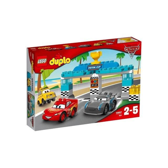Конструктор LEGO DUPLO Гонка за Кубок Поршня 10857-L