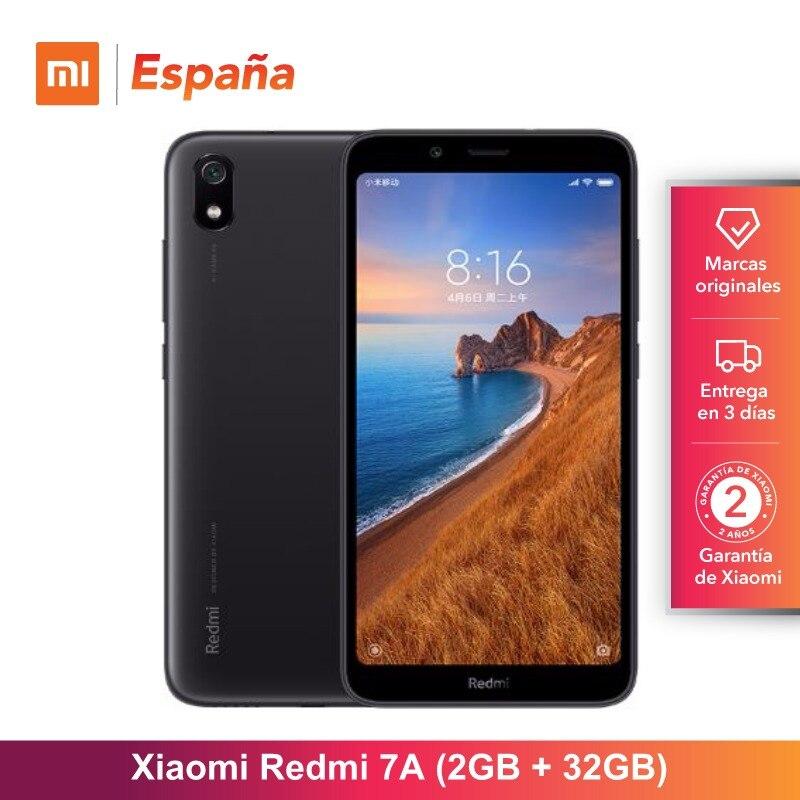 [Version globale pour l'espagne] Xiaomi Redmi 7A (mémoire de 32 go de RAM de 2 go, caméra 12MP + 5MP)