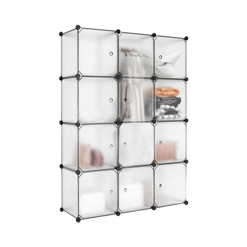 Étanche En Plastique Cube De Rangement Caisson À Tiroirs Placard Écologique Translucide Vêtements Chaussures Organisateur Combinaison Armoire S3