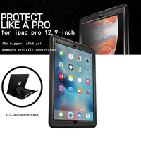 For IPad Pro 12 9 Case Kids Safe Armor Shockproof High Impact Resistant Hybrid Three Layer