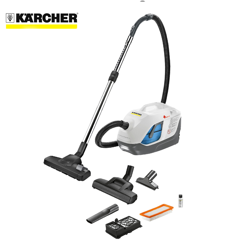 Vacuum cleaner for dry and wet cleaning Karcher DS 6 Premium Mediclean vacuum cleaner wet and dry karcher ad 4 premium eu ii