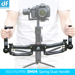 DH04 3 axis Gimbal stabilizer Spring Dual Handle 4.5kg bear for Crane 2 RONIN S Ronin SC Smooth 4 OSMO 2 AK2000 Moza Air 2