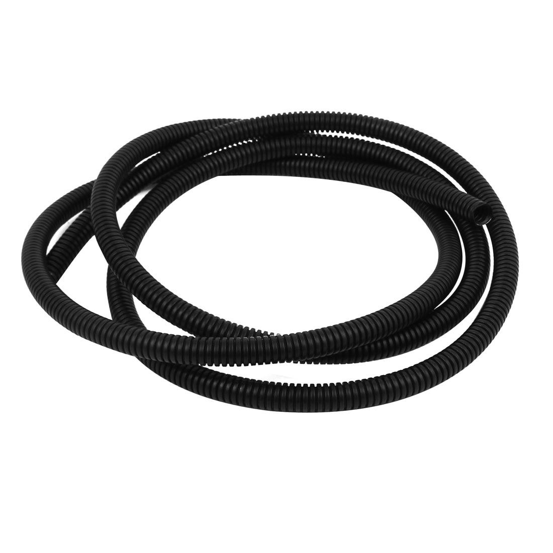 Cheap corrugated plastic drain pipe sizes find corrugated plastic - Uxcell Black Plastic 11 5mm X 8 5mm Flexible Corrugated Conduit Pipe Hose Tube 2m Long