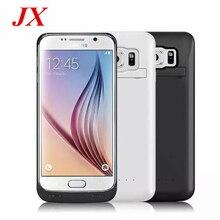 Для samsung Galaxy S6 Батарея случае 4200 мАч Батарея Зарядное устройство чехол Мощность банка для samsung S6 Батарея случае