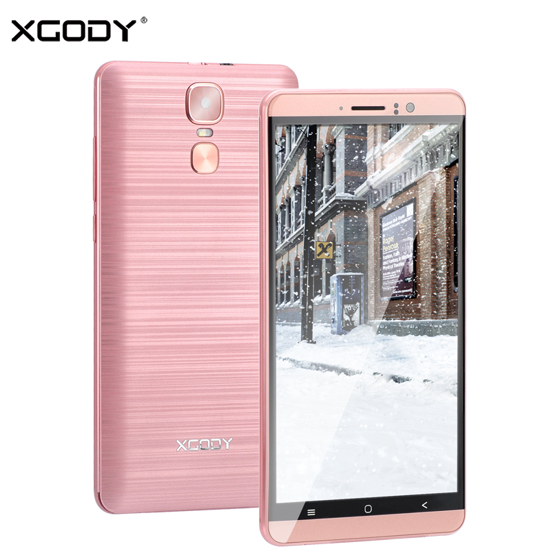 XGODY New 3G Dual Sim Smartphone 6 Inch Android 5.1 Mobile Phone MTK6580 Quad Core 1GB RAM 8GB ROM 5MP Camera GPS WiFi CellphoneXGODY New 3G Dual Sim Smartphone 6 Inch Android 5.1 Mobile Phone MTK6580 Quad Core 1GB RAM 8GB ROM 5MP Camera GPS WiFi Cellphone