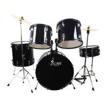 Ладе железа плакировкой барабан комплект 5 В комплекте с ПК для взрослых набор с подставкой педаль музыкальных ударных инструментов для любителей музыки