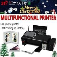 Фотоцветной принтер с термопечатью, сублимационная машина для печати на кружках/крышках/футболках/чехлах для телефонов