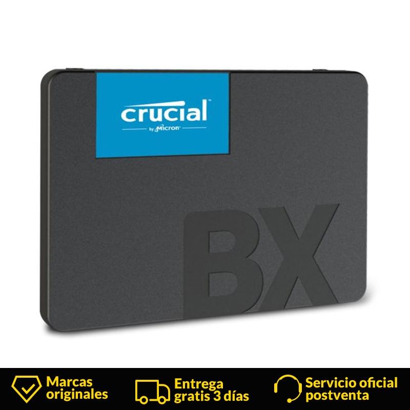 Crucial BX500 Externe SSD 240 GB Portable SSD Externe HD disque dur disque SSD disque dur Portable pour ordinateur Portable De Bureau