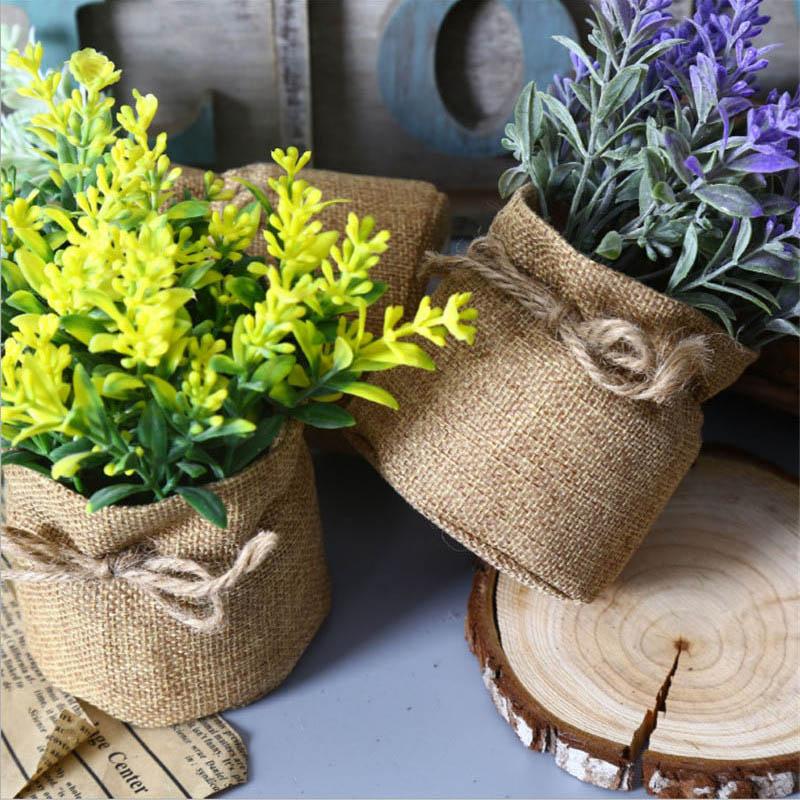 1 հատ Բարձրորակ արհեստական բույսեր - Տոնական պարագաներ