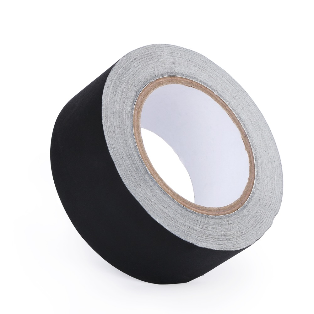 """Gaffer Tape Non Reflective Black Water Resistant Tape 2/"""" x 30 yard by U.S Solid"""