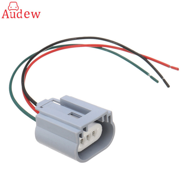 1Pcs H13 Headlight Bulb Male Wire Harness Connector Wiring Plug