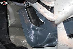 Image 2 - عاكس الهواء الدافئ ل Lada Largus 2011 2016 من نفق للأقدام ABS ملحقات بلاستيكية وحدة التحكم وظيفة اتجاه الهواء التصميم